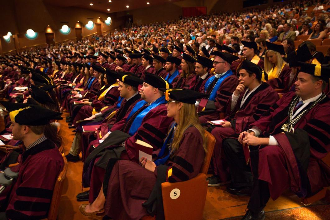 Spring 2016 Law School convocation