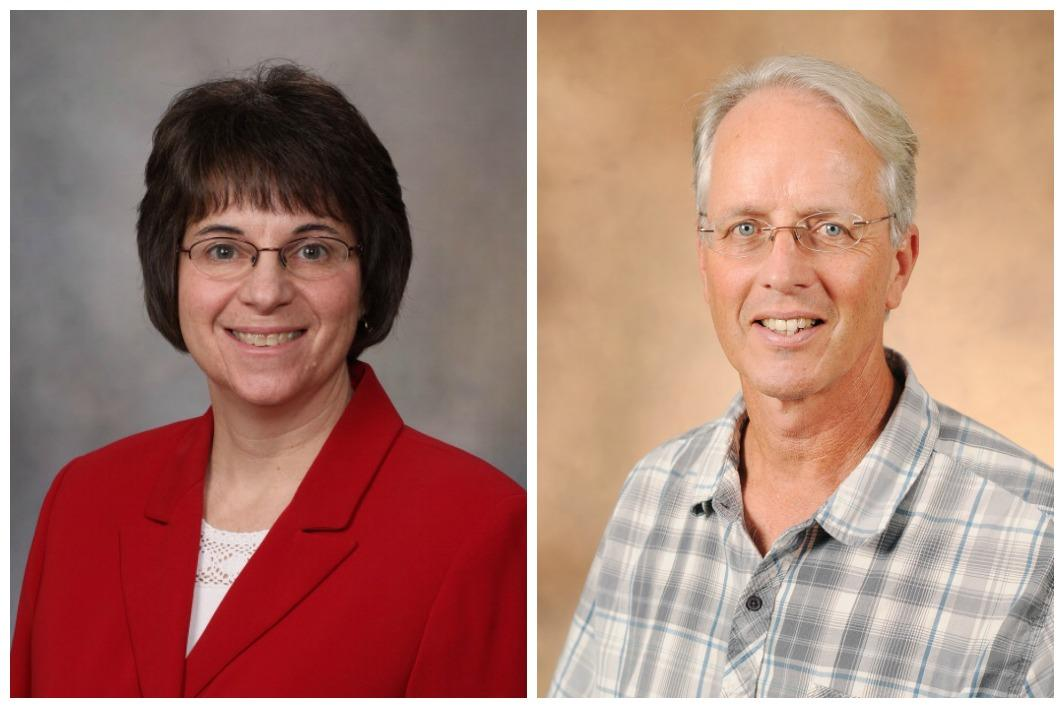 Cynthia McCollough and Bill Graves