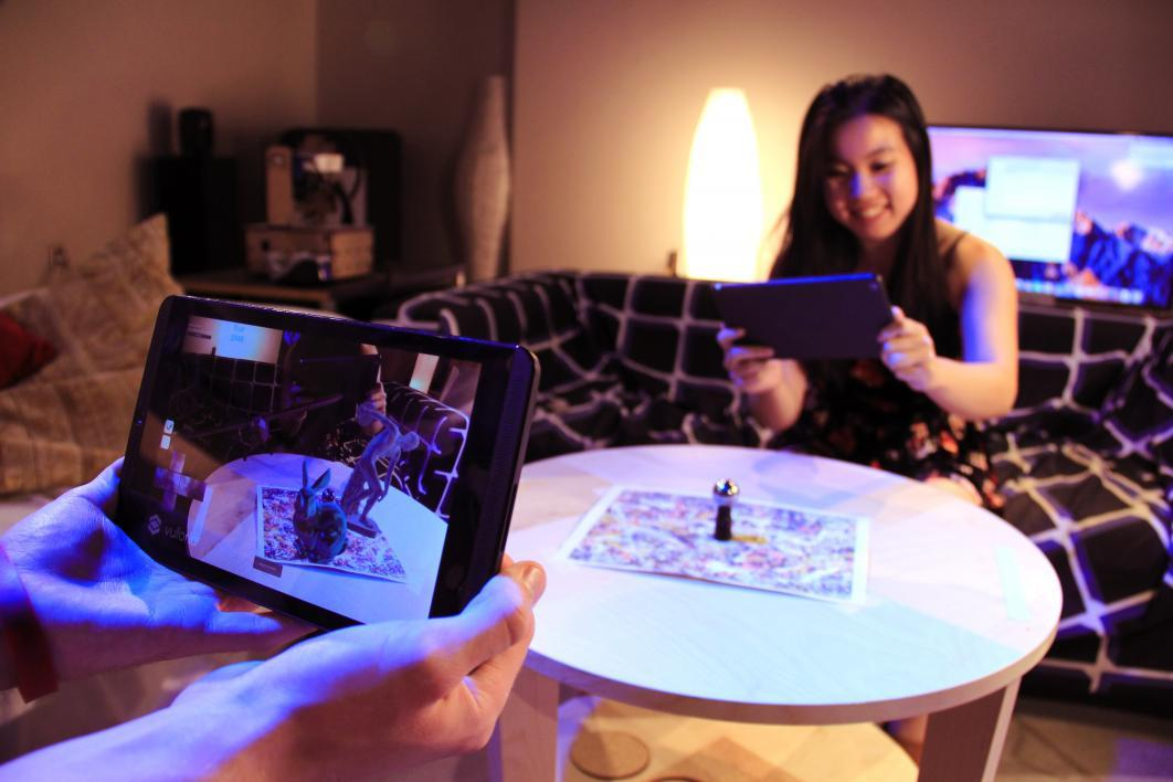 Students experiment in ASU's METEOR Studio