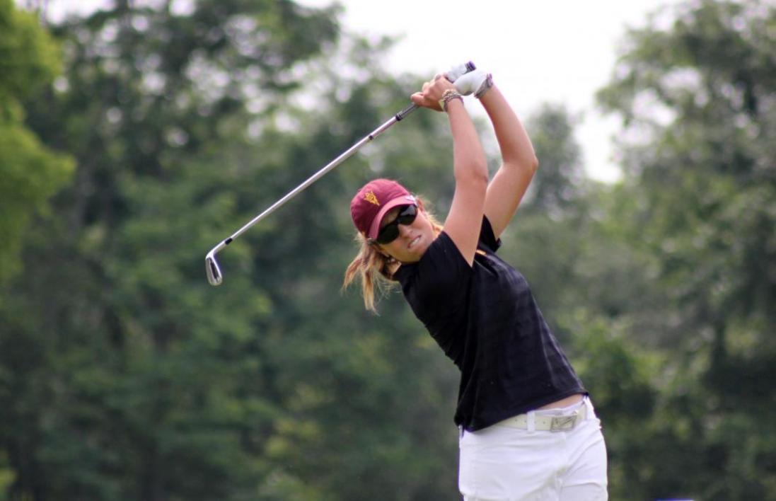 Golfer Giulia Molinaro