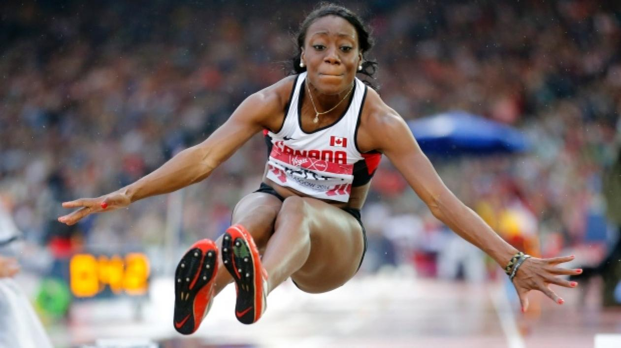 Long jumper Christabel Nettey