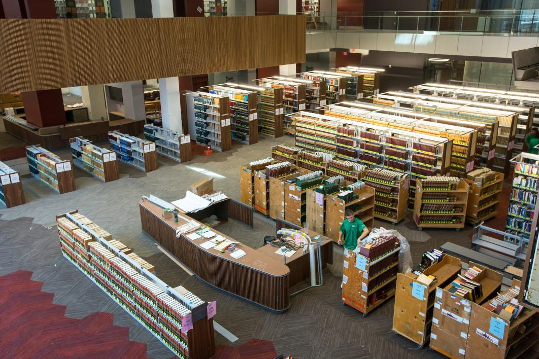 downtown Phoenix law library