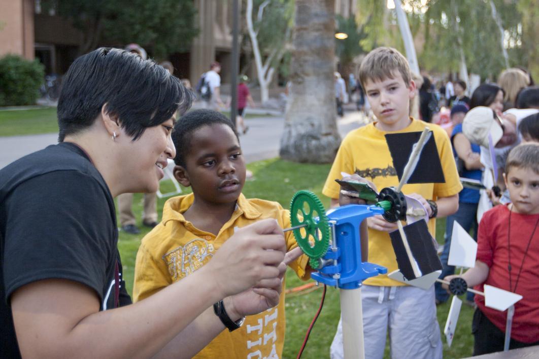 Engineering activities at ASU Night of the Open Door in Tempe