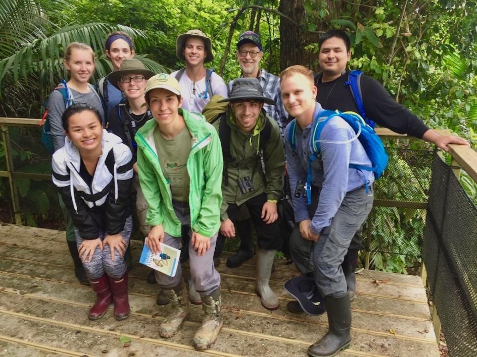 Experimental Tropical Biology course in Central America