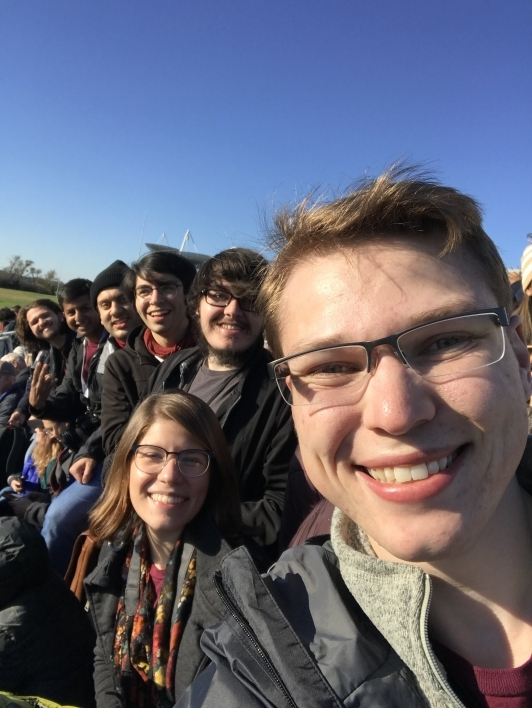 selfie of phoenix team