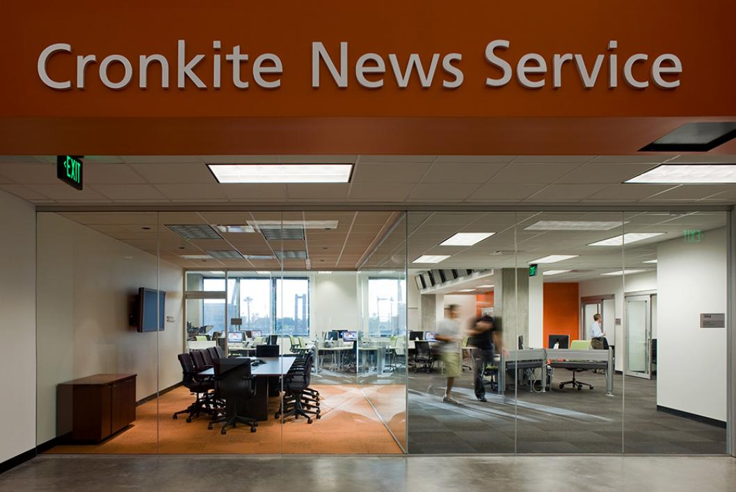 The walter cronkite school of journalism and mass communication offers real world news gathering experiences