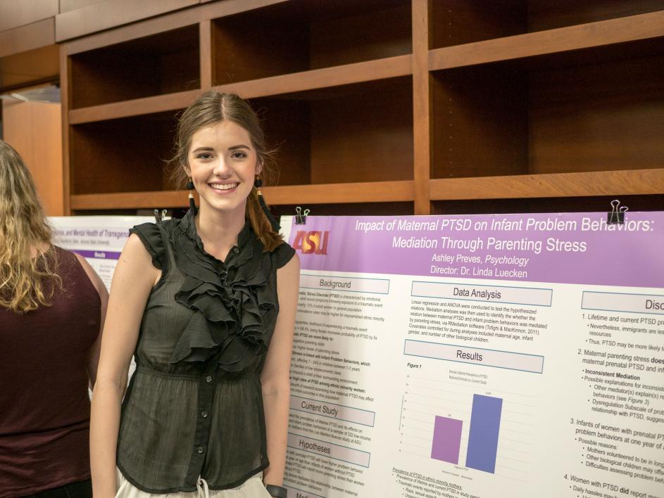 Ashley Preves, ASU Psychology