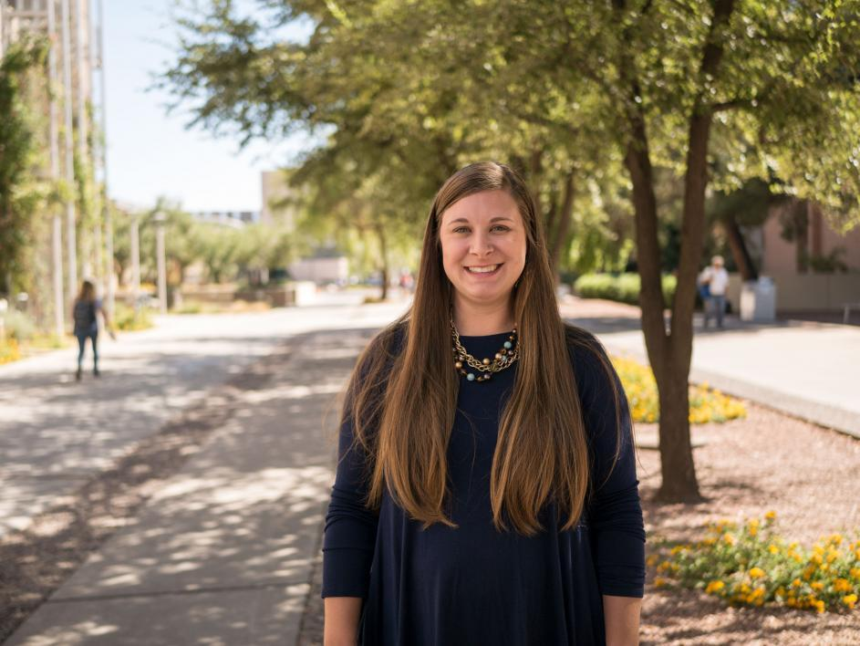 Reagan Breitenstein, a psychology graduate student who is second author on the study