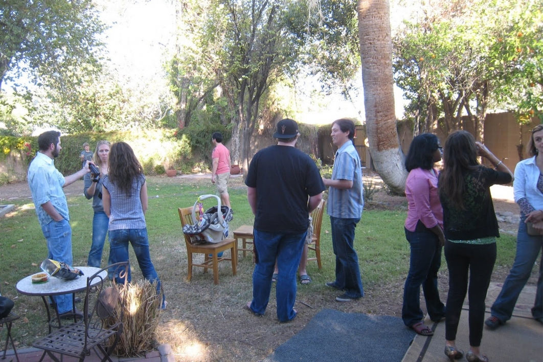 group barbeque