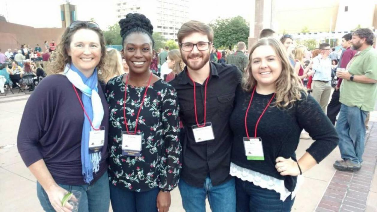ASU faculty, alum and students at 2017 meetings of The Wildlife Society