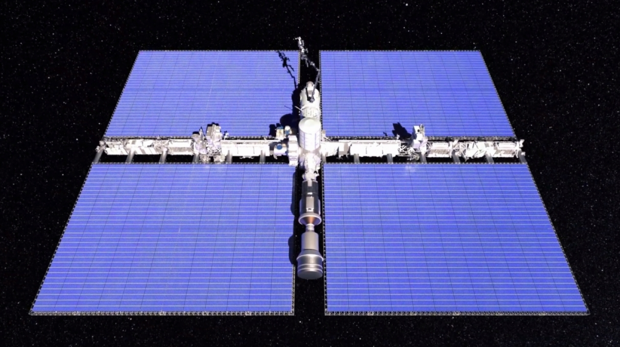 Additive manufacturing concepts in space.
