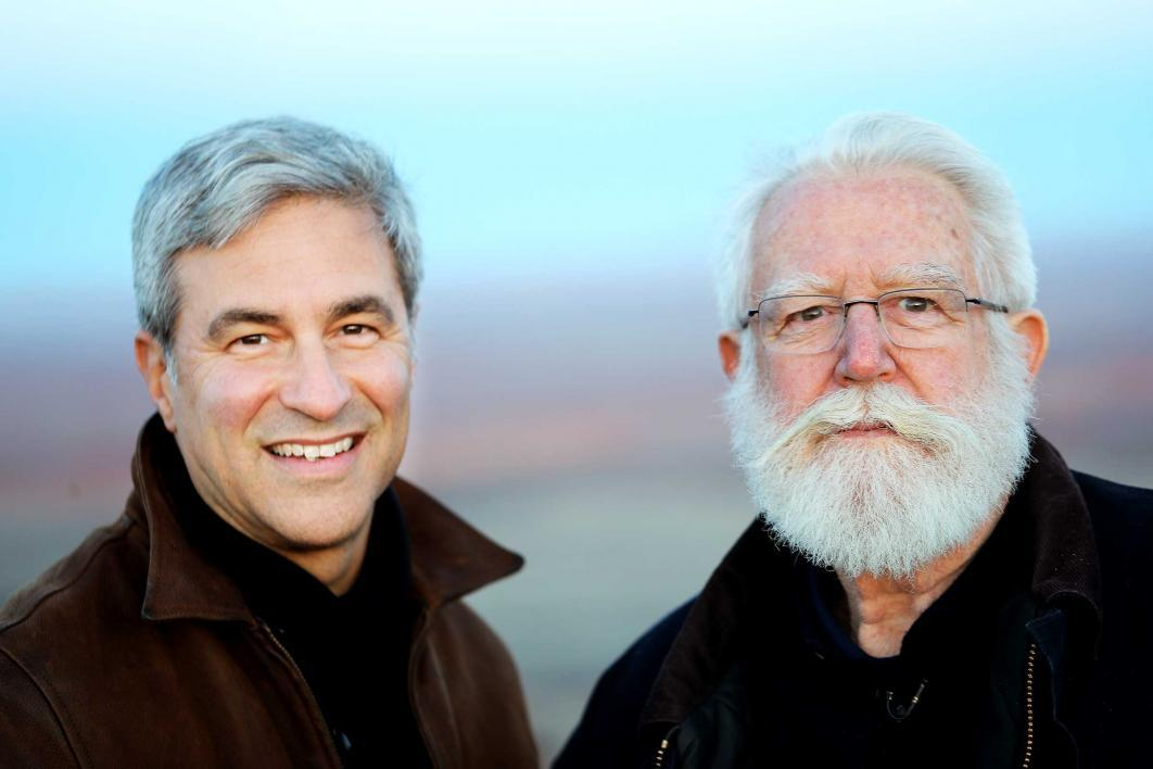 Michael Govan and James Turrell