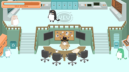 K.E.Y. Academy game screenshot