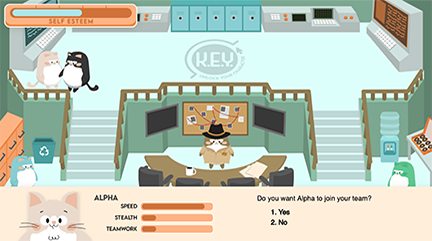 K.E.Y. Academy game screenshot 2