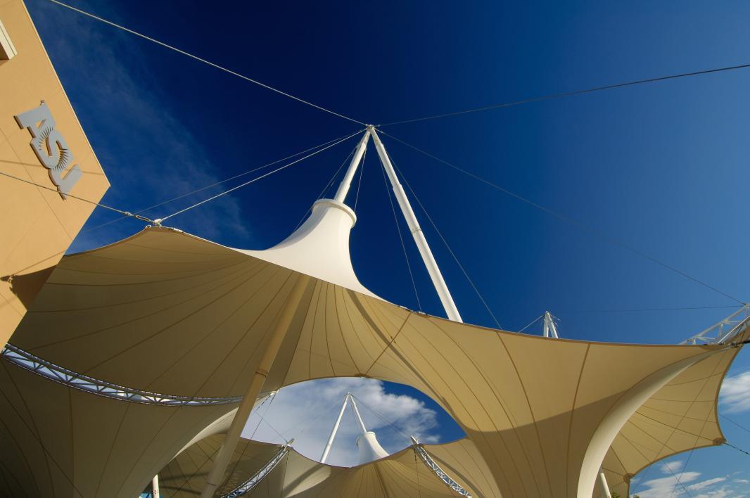 ASU SkySong courtyard canopy