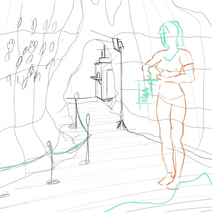 Sketching Archaeologist Draft 1