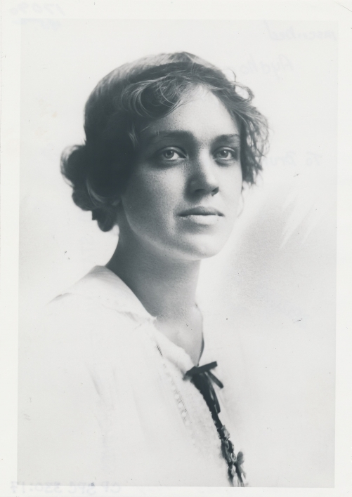 Agnes Smedley portrait