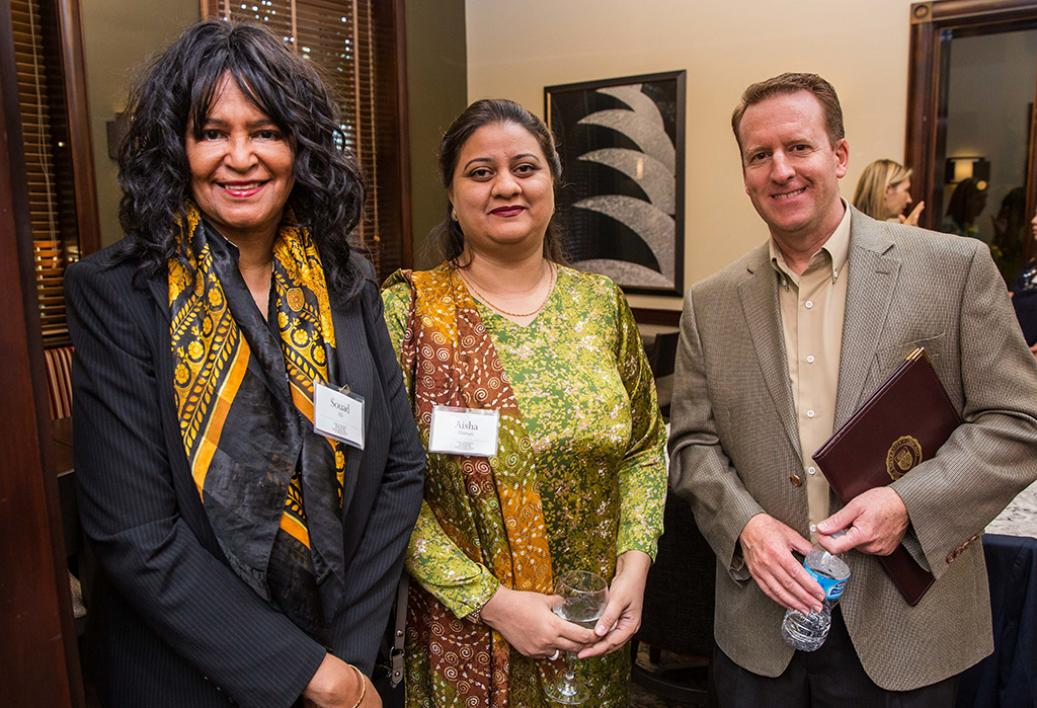 Souad Ali at a meeting of the ASU Center for the Study of Religion and Conflict