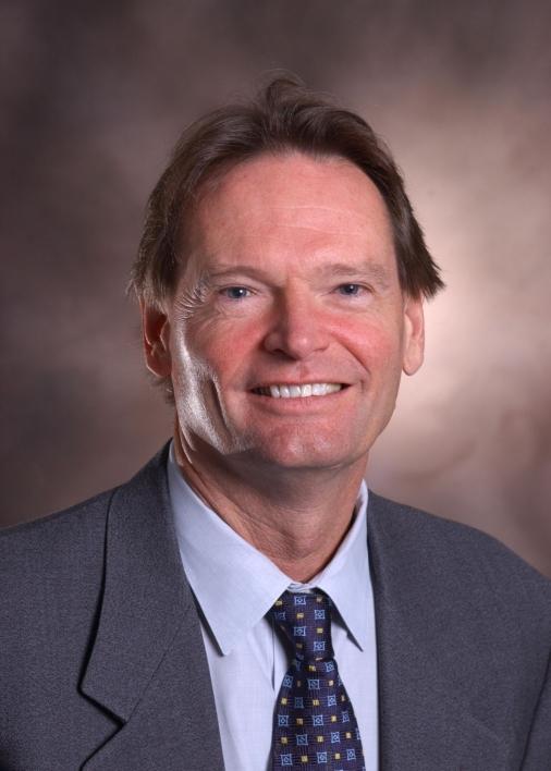 A portrait photo of ASU scientist Stephen Albert Johnston