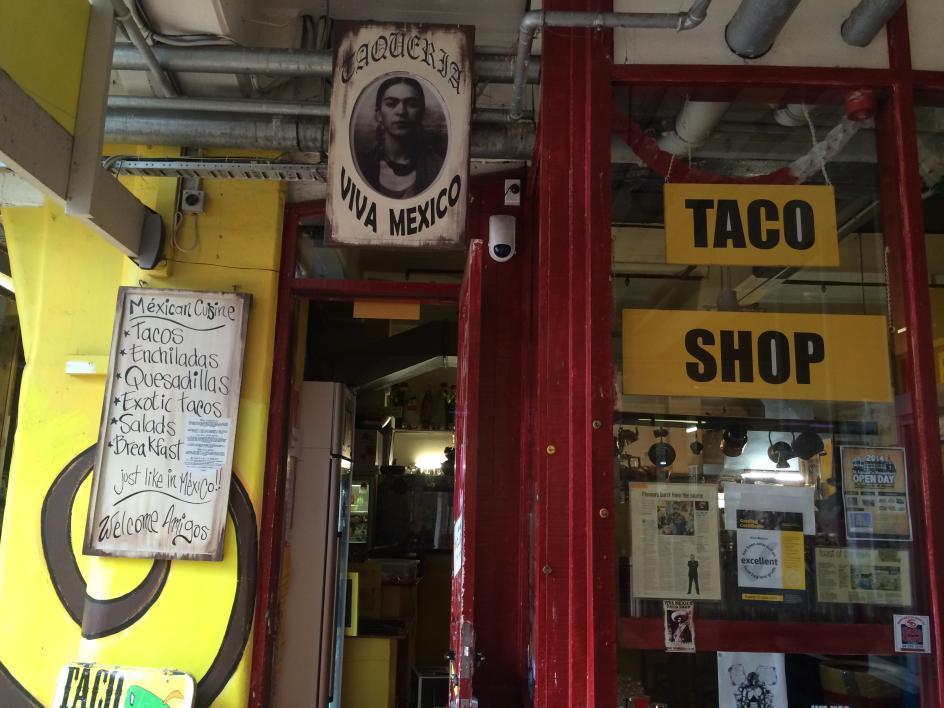 taco shop exterior