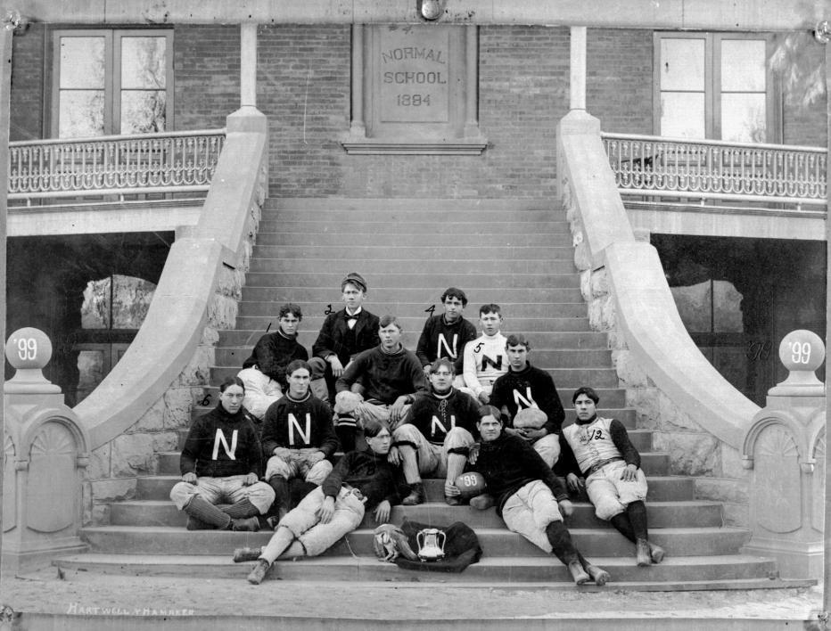 Territorial Normal School football team in 1899