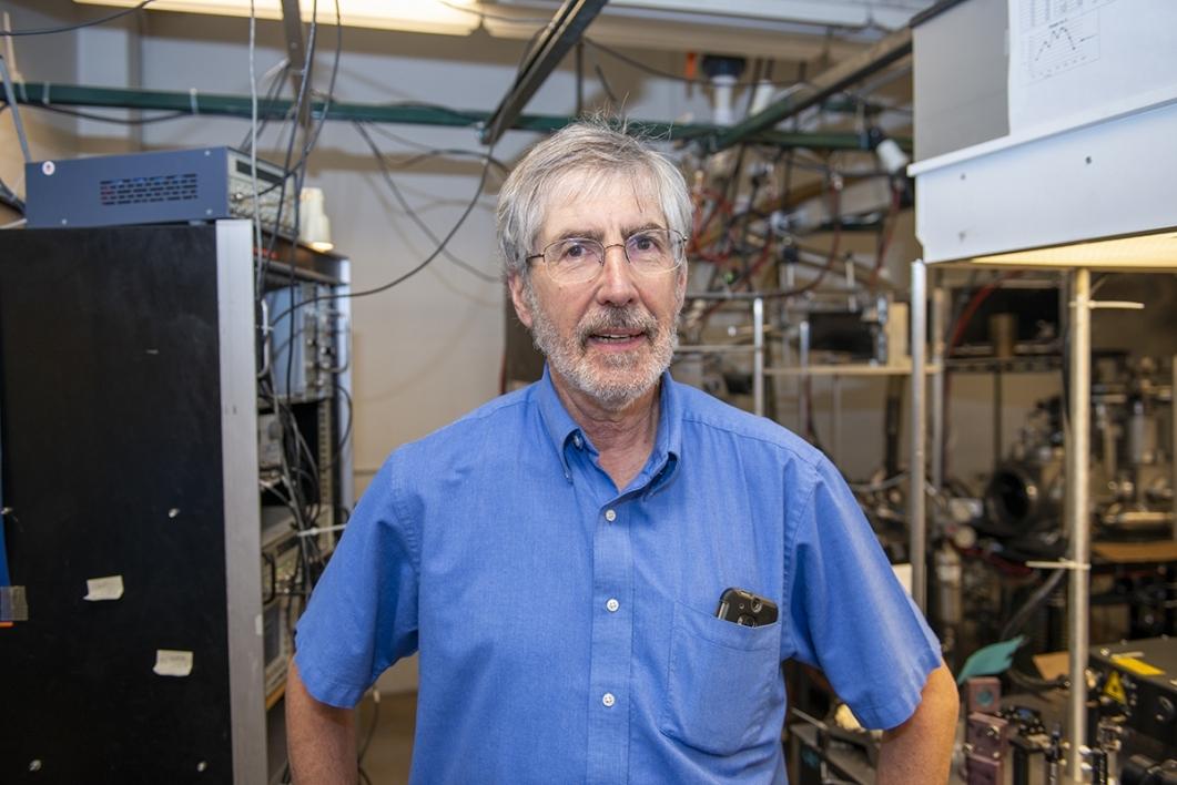 Tim Steimle in his ASU lab