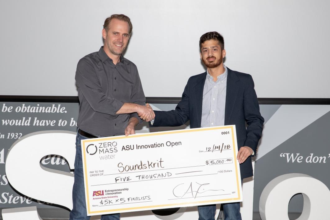 ASUio semifinalist Soundskrit wins $5,000 at ASU Innovation Open