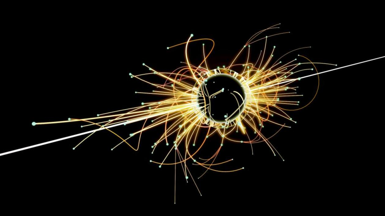 Particle Collision and Blackhole in Large Hadron Collider