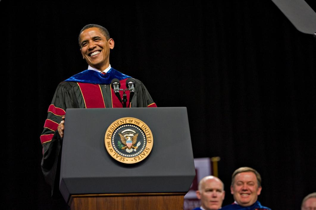 President Barack Obama at ASU commencement