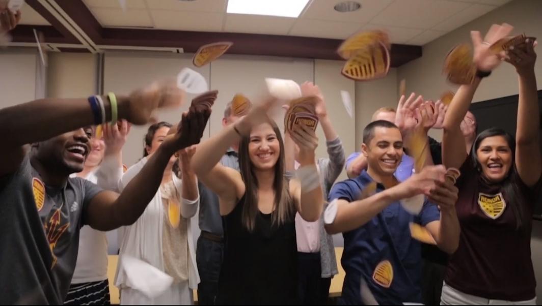 ASU veterans welcome video