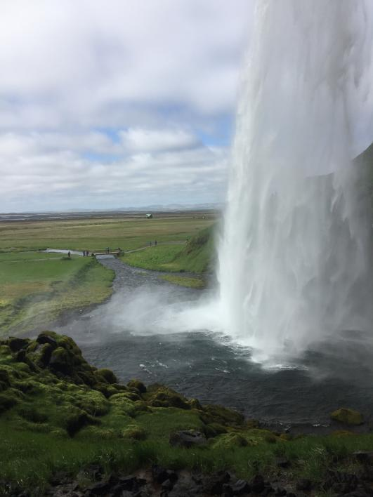 "A waterfall, on the summer 2018 ""Game of Thrones"" study abroad program. / Photo by Mickee Engl"