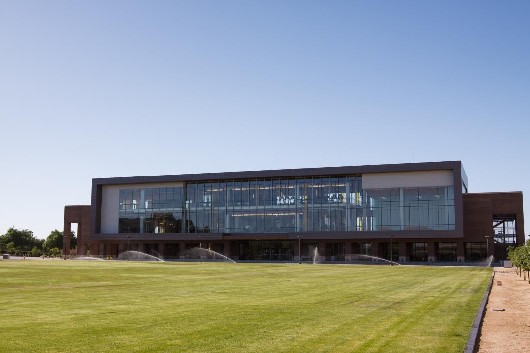 college campus fitness complex