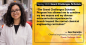 """Ava Karanjia: """"The Grand Challenges Scholars Program has allowed me to combine my two majors and my diverse extracurricular experiences to branch beyond the normal chemical engineering curriculum."""""""