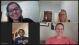 Screenshot of four people meeting on Zoom.