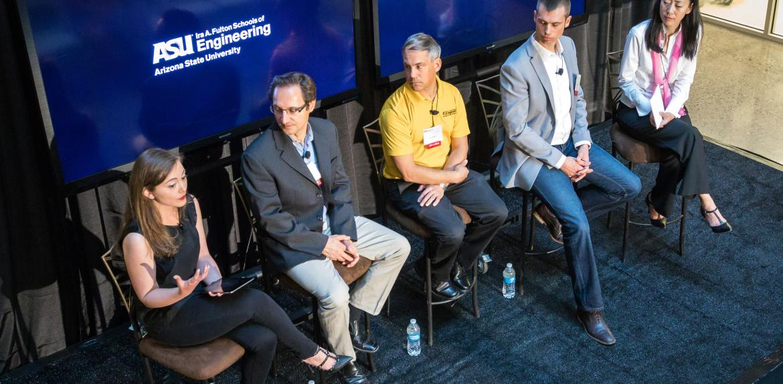 ASU engineers meet industry representatives
