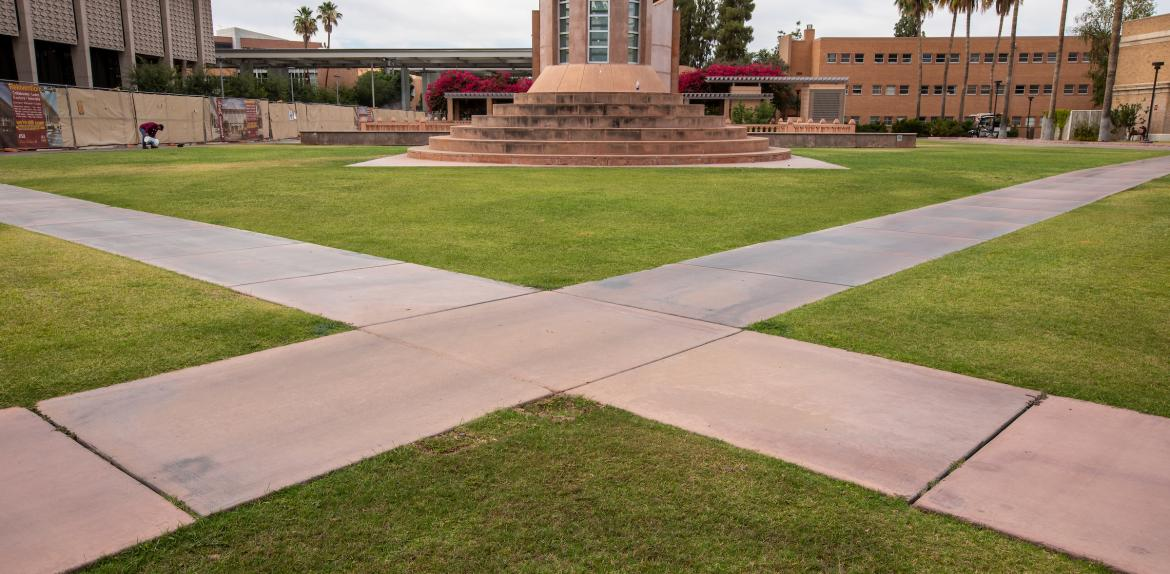 X on Hayden Lawn one of 3 hottest spots at ASU