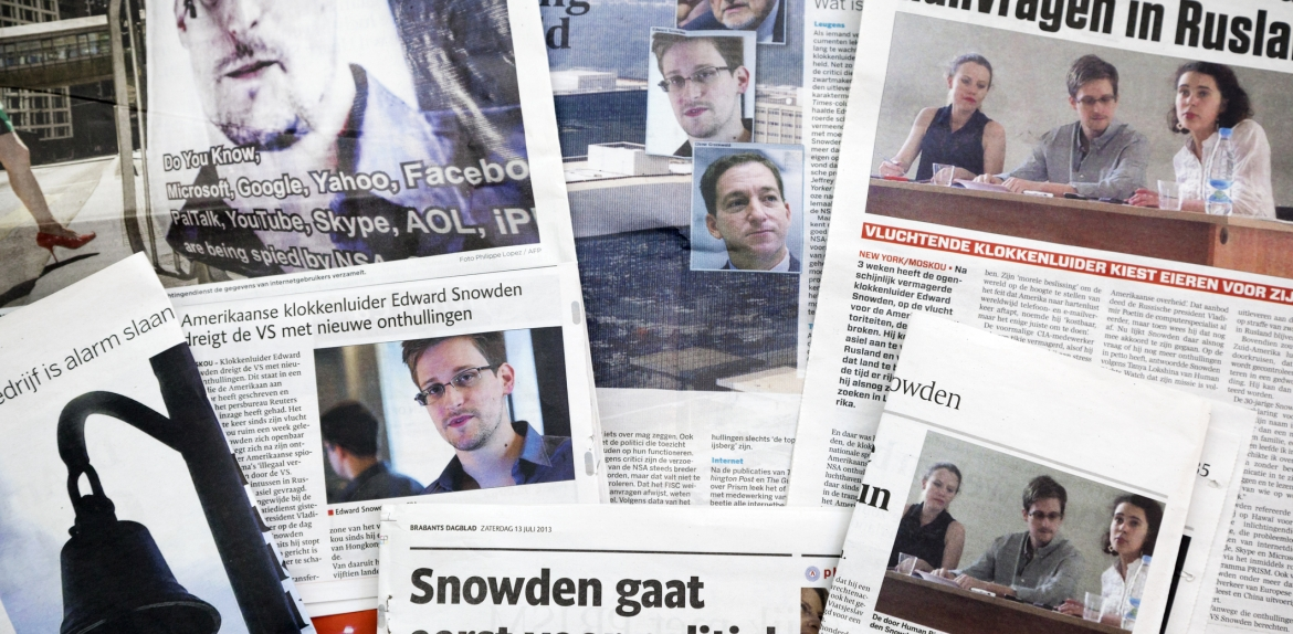 Collage of newspapers