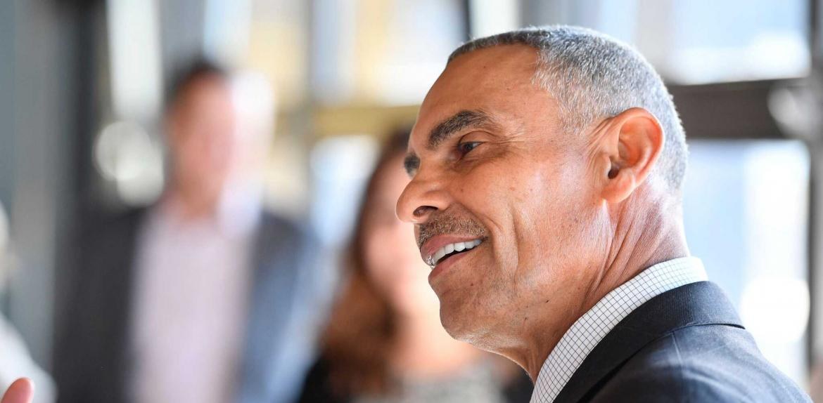 ASU football Coach Herm Edwards