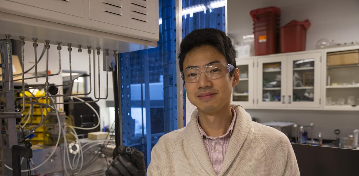 "Assistant Research Professor Zhengshan ""Jason"" Yu"