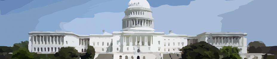 illustration of the U.S. Capitol Building in Washington, D.C.