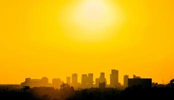 Phoenix city skyline