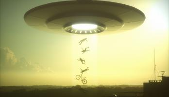UFO uploading people