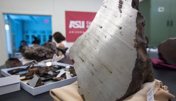 ASU meteorite