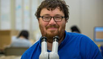 ASU anthropology grad Nathan Shelley