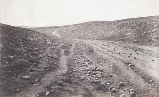 Valley of the Shadow of Death Fenton 1855