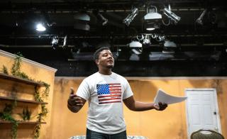 Donta McGilvery teaches African-American theater at ASU.