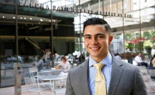 Zade Shakir, , a third-year ASU Law student, launched the Emerging Sports Leaders Program this fall.