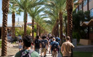 palm walk students