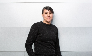 Portrait of ASU poet Natalie Diaz