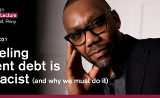 Graduate College Distinguished Lecture Canceling student debt is anti-racist  event